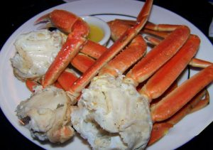 Manassas Steamed Crab Legs