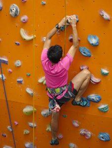 Manassas rock climbing